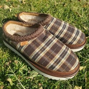 Ugg × Pendleton Tasman Braid Plaid Slippers sz 12